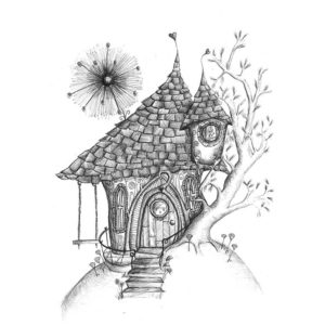 DRC Illustrations Elf House