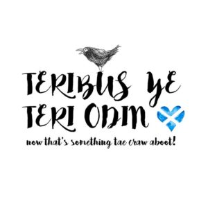 DRC Illustrations print crow about places teribus ye teri odin