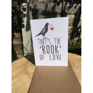 DRC Illustrations card Thats the Rook of Love