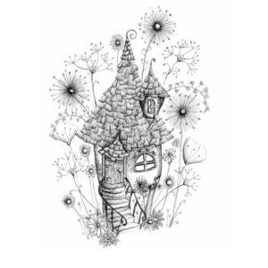 DRC Illustrations Faerie house