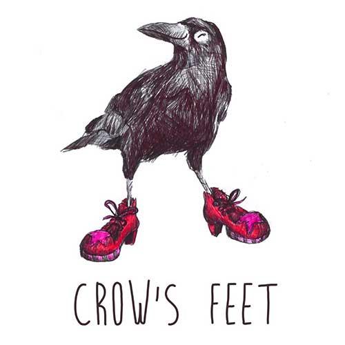 DRC illustrations crows feet